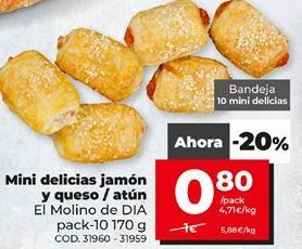 Oferta de Pasteles por 0,8€