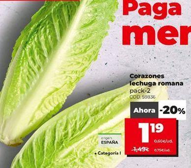 Oferta de Lechuga por 1,19€