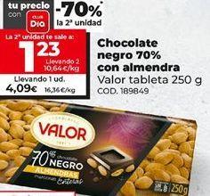 Oferta de Chocolate negro Valor por 4,09€