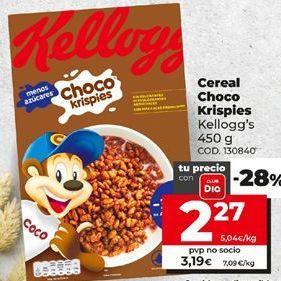 Oferta de Cereales Kellogg's por 2,27€