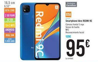 Oferta de Smartphone libre REDMI 9C  por 95€