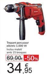 Oferta de Taladro percutor eléctrico 1000w  por 34,95€