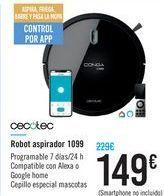 Oferta de Robot aspirador 1099 CECOTEC por 149€