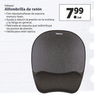 Oferta de Alfombrilla ratón Fellowes por 7,99€