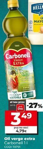 Oferta de Aceite de oliva virgen extra Carbonell por 3,49€