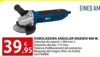 Oferta de Amoladora por 39,95€