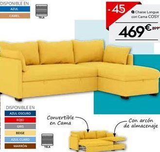 Oferta de Chaise longue por 469€