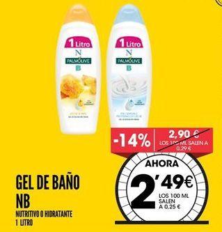 Oferta de Gel de baño NB por 2,49€