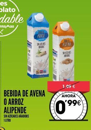 Oferta de Bebida de arroz Alipende por 0,99€