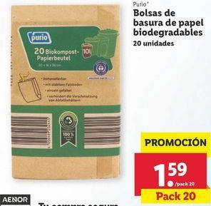 Oferta de Bolsas de basura por 1,59€