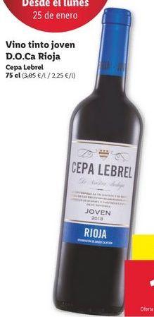 Oferta de Vino tinto por 1,69€
