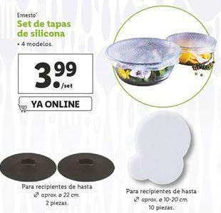 Oferta de Tapas ernesto por 3,99€