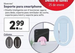 Oferta de Soportes SilverCrest por 2,99€