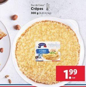 Oferta de Crepes por 1,99€
