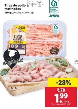 Oferta de Pollo por 1,99€