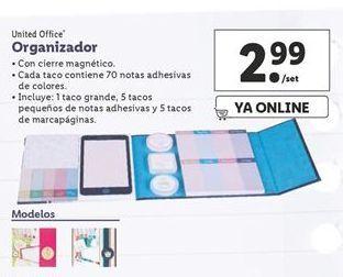 Oferta de Organizador United Office por 2,99€