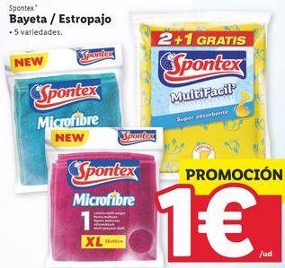Oferta de Bayeta Spontex por 1€