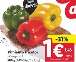 Oferta de Pimientos por 1€