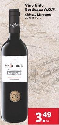 Oferta de Vino tinto por 3,49€