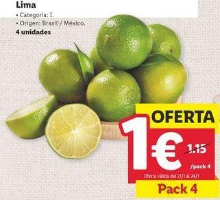 Oferta de Limas por 1€