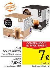 Oferta de Café DOLCE GUSTO  por 7,82€