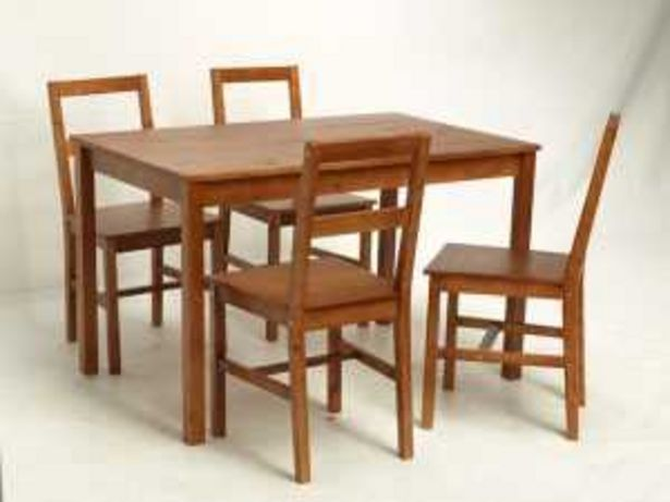 Oferta de Set mesa+4 sillas MK-DS-01-S por 99€