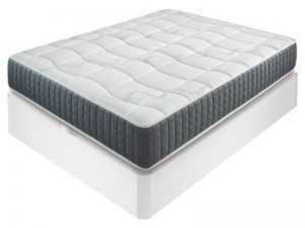 Oferta de Pack canapé E322+colchón IDENTITY 135×190 blanco por 419€