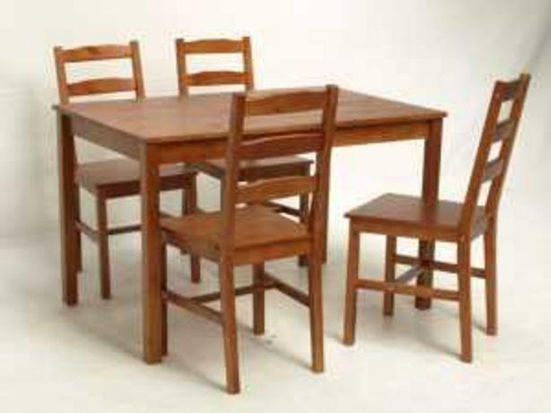 Oferta de Set mesa+4 sillas MK-JOK-B por 99€