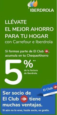 Oferta de Ser socio de El Club Carrefour tiene muchas ventajas  por