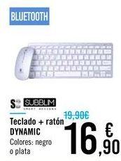 Oferta de Teclado + ratón DYNAMIC por 16,9€