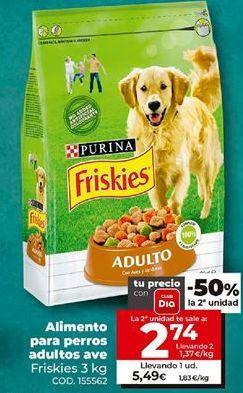 Oferta de Comida para perros Friskies por 5,49€