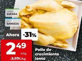 Oferta de Pollo por 2,49€
