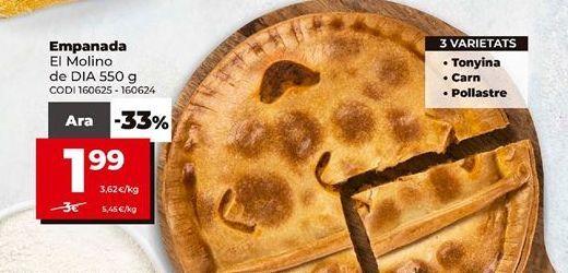 Oferta de Empanada Dia por 1,99€