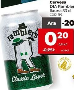 Oferta de Cerveza por 0,2€