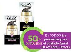 Oferta de En TODOS los productos para el cuidado facial OLAY Total Effects por