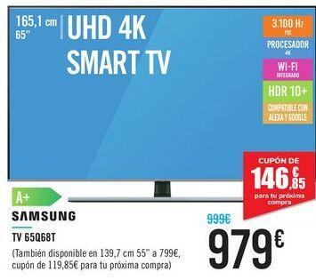 Oferta de TV 65Q68T SAMSUNG  por 979€