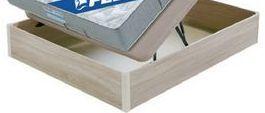 Oferta de Arcón de madera FLEX 90x190 cm por 389€