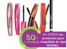 Oferta de En TODOS los productos para maquillaje de ojos RIMMEL por