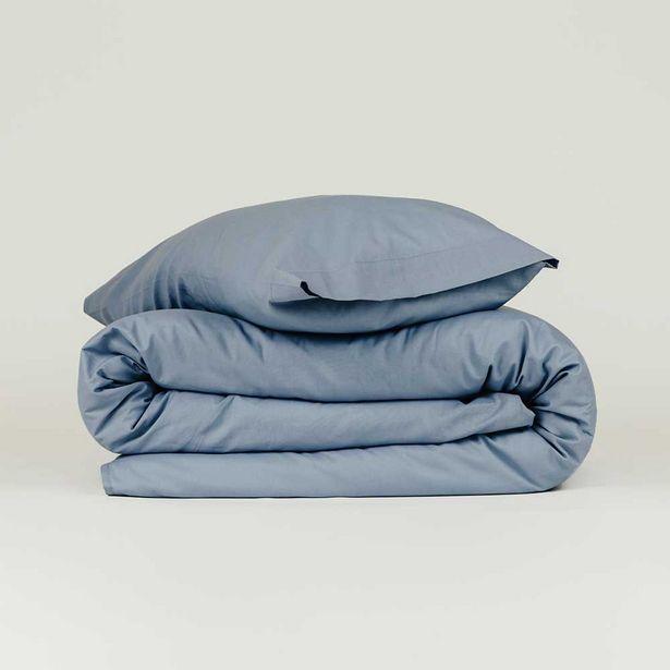 Oferta de Funda nórdica algodón Tintura índigo 90 por 14€