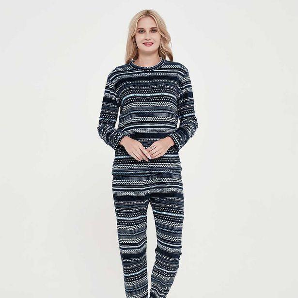 Oferta de Pijama Coral Dalila Azul por 7,99€
