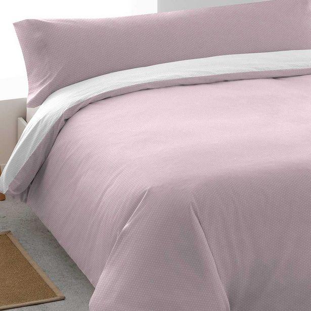 Oferta de Funda Nórdica algodón Tango rosa 90 por 14€