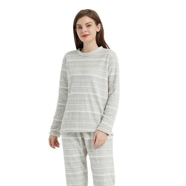 Oferta de Pijama coral Claudio natural por 7,99€