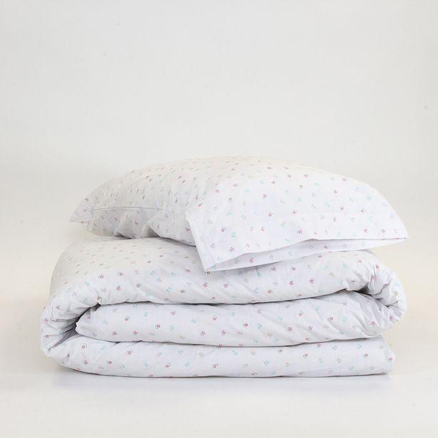 Oferta de Funda nórdica algodón Priscila 90 por 14€