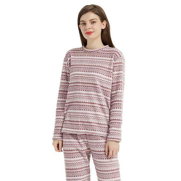 Oferta de Pijama coral Loreto malva por 7,99€