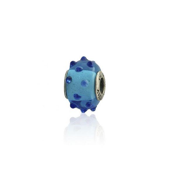 Oferta de Abalorio plata piedra azul por 9€