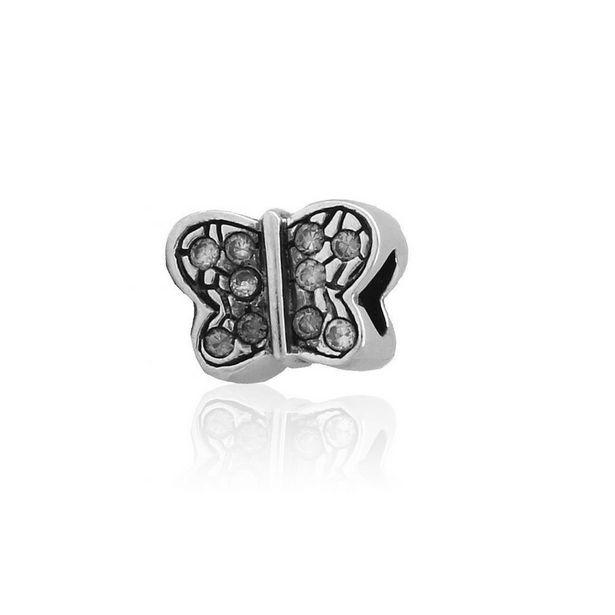 Oferta de Abalorio plata mariposa por 12€