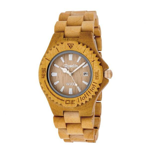 Oferta de Reloj unisex Natural Wood Roselin Watches por 34,5€