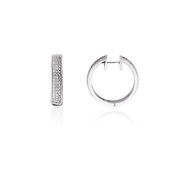 Oferta de Pendientes plata aro Luxilver por 24,5€