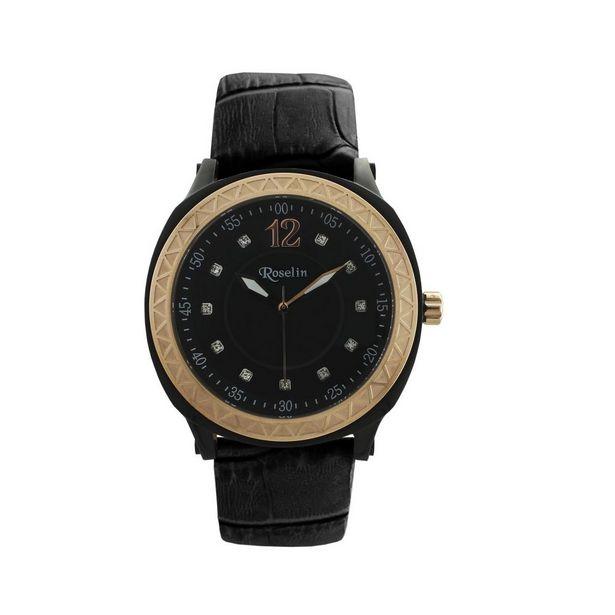 Oferta de Reloj mujer piel y acero Roselin Watches por 69€