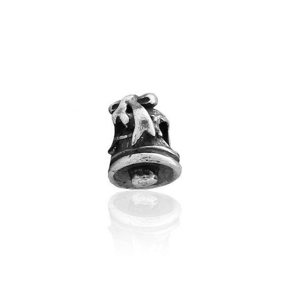 Oferta de Abalorio plata campana por 9€